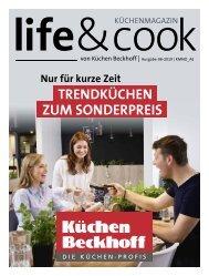 Life&Cook Küchenmagazin Möbel Beckhoff