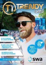 TRENDYone | Das Magazin - Augsburg - Juni 2017
