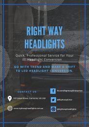 Led Headlight Conversion - Reasons Why You Need It