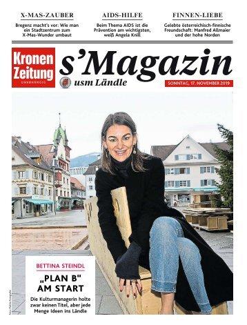 s'Magazin usm Ländle, 17. November 2019