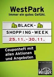 Black-Shopping-Week Couponheft 2019