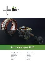 +Line Parts Catalogue 2020