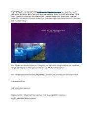 TERBAIK,WA +62 812-9627-2689 Jual Septic Tank biofil andir bandung