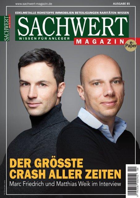 Sachwert Magazin ePaper, Ausgabe 85