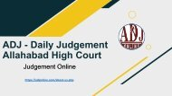 ADJ - Read to Every Rules of High Court - Judgement Online