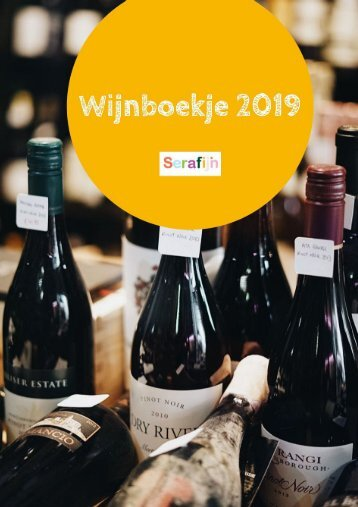 Bestel nu je wijn via Serafijn