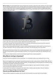 Free Bitcoin Mining 2019
