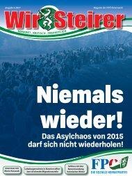 Wir Steirer - Ausgabe 6 - November 2019