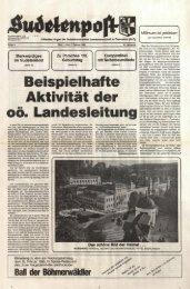 Ausgabe - Sudetenpost