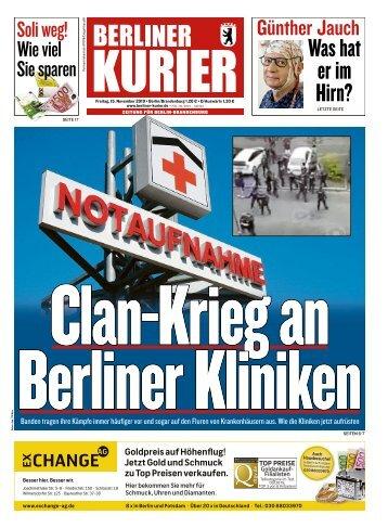 Berliner Kurier 15.11.2019