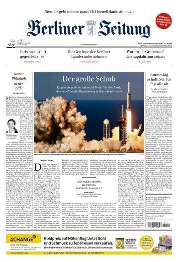 Berliner Zeitung 15.11.2019