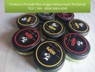 KELIMIS !!! TELP / WA : 0858-5663-4245 (Isat), Jual Pomade warna Bojonegoro Surabaya