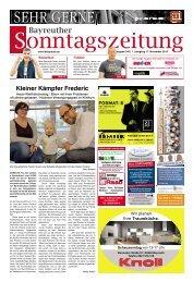 2019-11-17 Bayreuther Sonntagszeitung