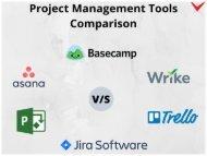 6 Best Project Management Tools Comparison: Jira vs. Trello vs. MS Project vs. Basecamp vs. Asana vs. Wrike
