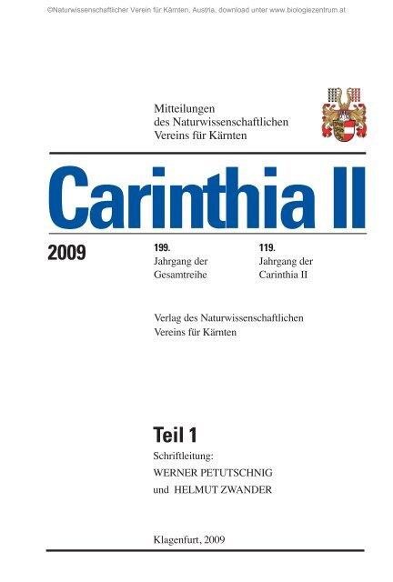 Endbericht. Das Untersuchungsgebiet. Text: Mag. Manuela