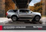 Road Ranger Nissan Navara Pick-Up Hardtop Catalogue