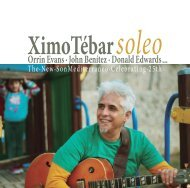 Libreto CD: Ximo Tebar
