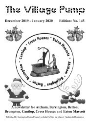 Berrington Village Pump Edition 145 Dec 2019 - Jan 2020