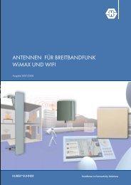 ANTENNEN FÜR BREITBANDFUNK WiMAX UND WIFI - Meconet