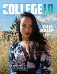 The College10 Magazine Issue 02 November/December 2019