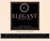 Elegant Charters LLC Digital Magazine