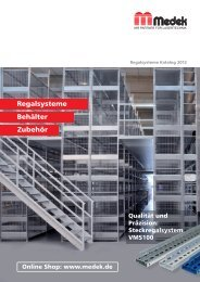 Medek Katalog 2012-Neu-01.indd - Medek Lagertechnik