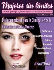 Revista Mujer sin Límites- noviembre