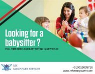 Best-Placement-Services-for-Baby-Care-Taker