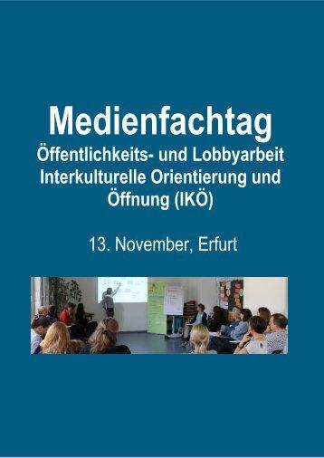 Medienfachtag Erfurt