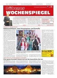 Dübener Wochenspiegel - Ausgabe 22 - Jahrgang 2019