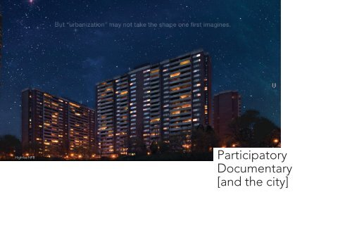 Participatory Documentary and the City_Final Report