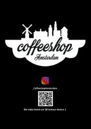 CoffeeshopAmsterdam menu