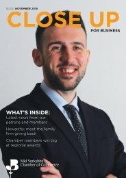 Close Up - November issue