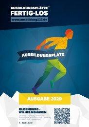 AUSBILDUNGSPLÄTZE - FERTIG - LOS | Oldenburg-Wilhelmshaven 2020