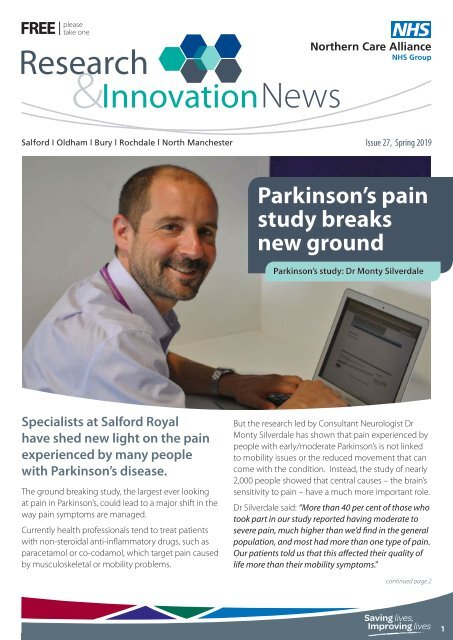 Research and Innovation Newsletter Spring 2019
