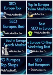 in Europe Top Online Marketing #WebAuditor.Eu for in Europe Online Branding Top Advertising Top Europe