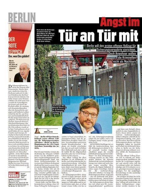 Berliner Kurier 18.11.2019