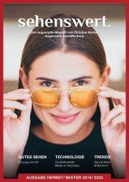 Sehenswert Magazin 2019 -  Christian Bartels Optik