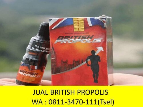DISKON !! TELP : 0811-3470-111 (WA), Distributor British Propolis.Id Banyuwangi Situbondo