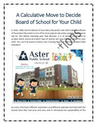 Best CBSE Affiliated School in Noida for Your Child
