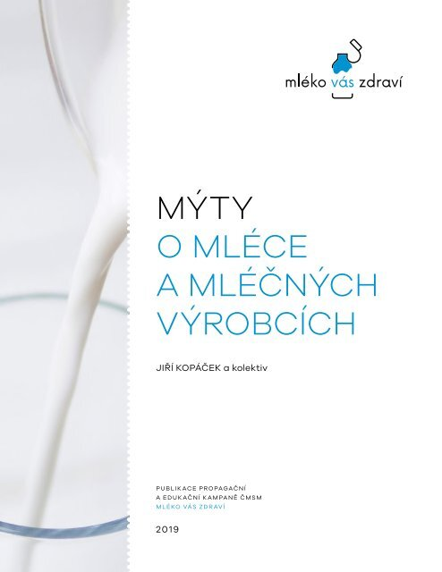 Mýty o mléce a mléčných výrobcích