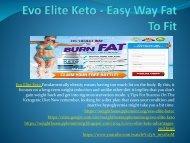Evo Elite Keto - Advantages And Disadvantages,Buy Now