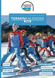 Skiverband Oberland Terminkalender 2019/20