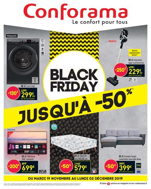 Black Friday Conforama 2019