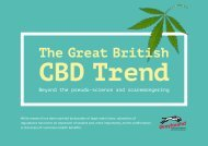 The Great British CBD Trend