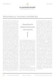 Kapital & Märkte: Ausgabe November 2019