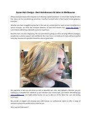 Aysan Hair Design - Best Hairdressers & Salon in Melbourne