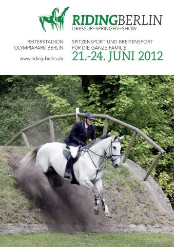 Turnierbroschüre 2012 (PDF) - Riding Berlin 21.