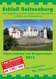 Die Dependance - Schloss Boitzenburg