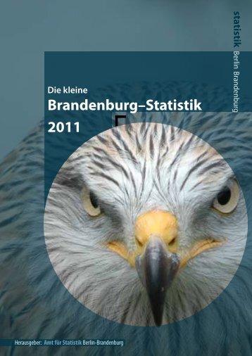 Kleine Brandenburg Statistik 2011 - Amt für Statistik Berlin ...